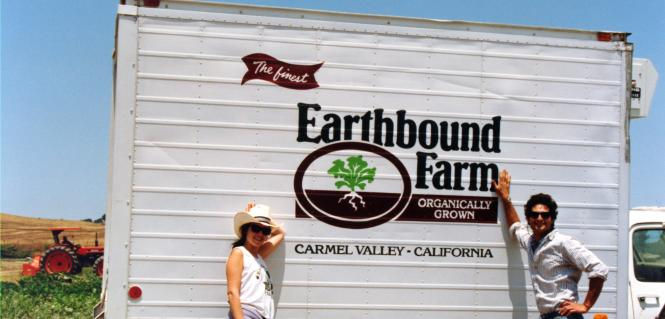Myra & Drew with Earthbound Truck